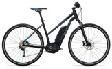 E-Bike Cube Cross Hybrid Pro 500 black´n´blue