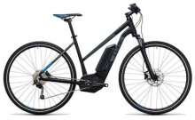 E-Bike Cube Cross Hybrid Pro 400 black´n´blue