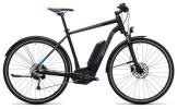 E-Bike Cube Cross Hybrid Pro Allroad 400 black´n´blue
