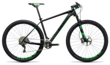 Mountainbike Cube Elite C:68 Race 29 2x carbon´n´green