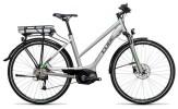 E-Bike Cube Touring Hybrid ONE 500 silver´n´flashgreen
