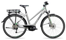 E-Bike Cube Touring Hybrid ONE 500 silver´n´flashgreen