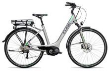 E-Bike Cube Touring Hybrid ONE 400 silver´n´flashgreen