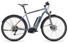 E-Bike Cube Cross Hybrid ONE Allroad 500 grey´n´orange