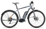E-Bike Cube Cross Hybrid ONE Allroad 400 grey´n´orange