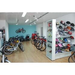 Fahrradladen im Zimmerhof Innenansicht 1