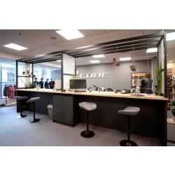 CUBE Store Rostock   operated by BIKE Market GmbH Innenansicht 1