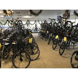 Prepernau Fahrradfachmarkt Innenansicht 2
