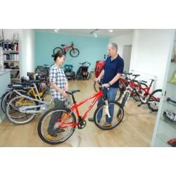 Fahrradladen im Zimmerhof Innenansicht 2