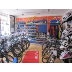Bike & Fun Radshop Innenansicht 2