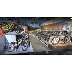 Fahrrad XXL Chemnitz Innenansicht 2