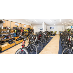 fahrradfuchs ebike erlebniswelt Innenansicht 3