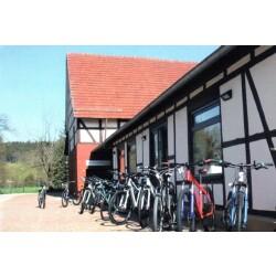 Radscheune, Fahrradhandlung Gebr. Riebold Geschäftsbild 3