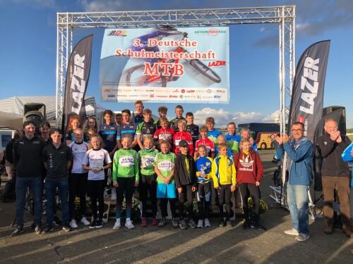 Deutsche Schulmeisterschaft MTB unterstützt von Lazer