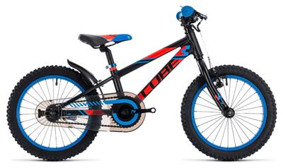 Cube - KID 160 	black´n´flashred´n´blue