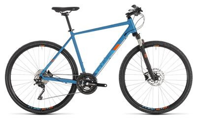 Cube - Cube Cross Pro blue´n´orange 2019