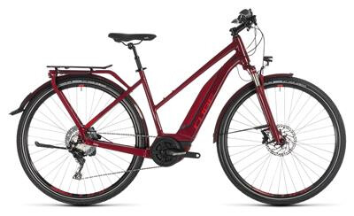 Cube - Touring Hybrid EXC Trapez darkred´n´red