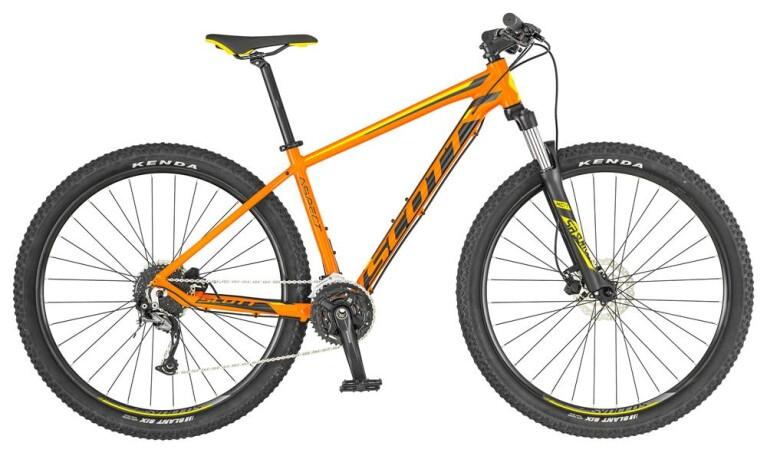 Scott - Aspect 940 orange/yellow