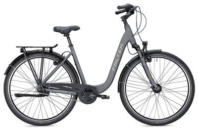 FALTER - City/Urbanbike C 4.0 Plus wave matt Titanium// Durch Art 71565