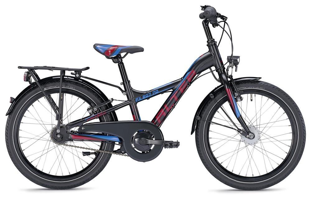 Falter - FX 207 ND YL (Schwarz-Rot-Blau)