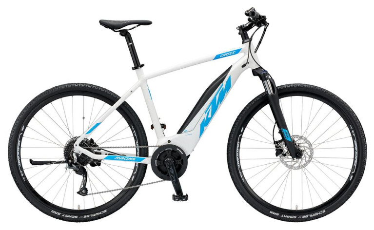 KTM - Macina Cross 9 A+4 Trapez E-Bike 28