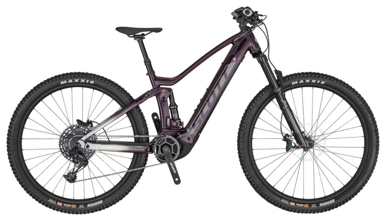 Scott - Contessa Strike eRide 910 cassis purple/pale grey/black