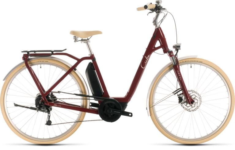 Cube - Ella Ride Hybrid 500 red´n´white