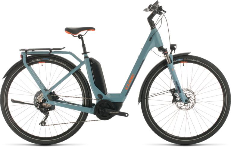 Cube - Touring Hybrid EXC blue n orange