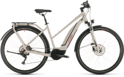 Cube - Cube Touring Hybrid Pro 500 grey´n´red 2020 Trapeze