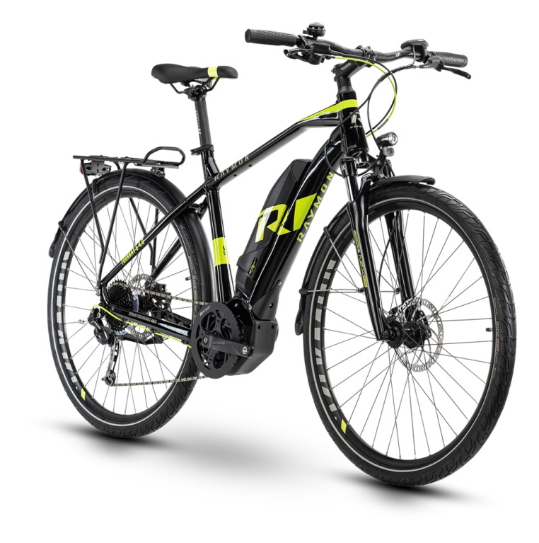 Raymon - Tourray E4.0, Diamant, Black/Lime/Grey glossy
