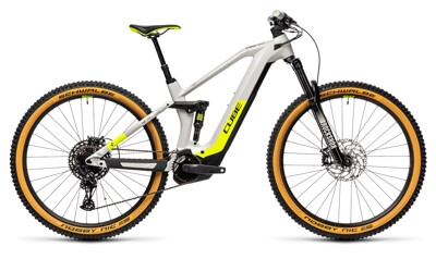 Cube - Stereo H 140 HPC Race grey´n´yellow