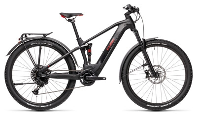 Cube - Stereo Hybrid 120 Pro Allroad 500 black´n´red