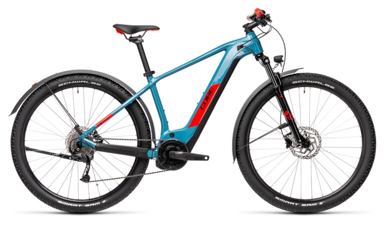 Cube - Reaction Hybrid Performance Allroad 500 blue´n´red