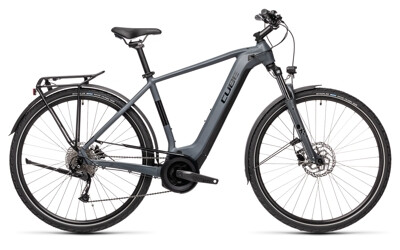Cube - Touring Hybrid ONE grey´n´black