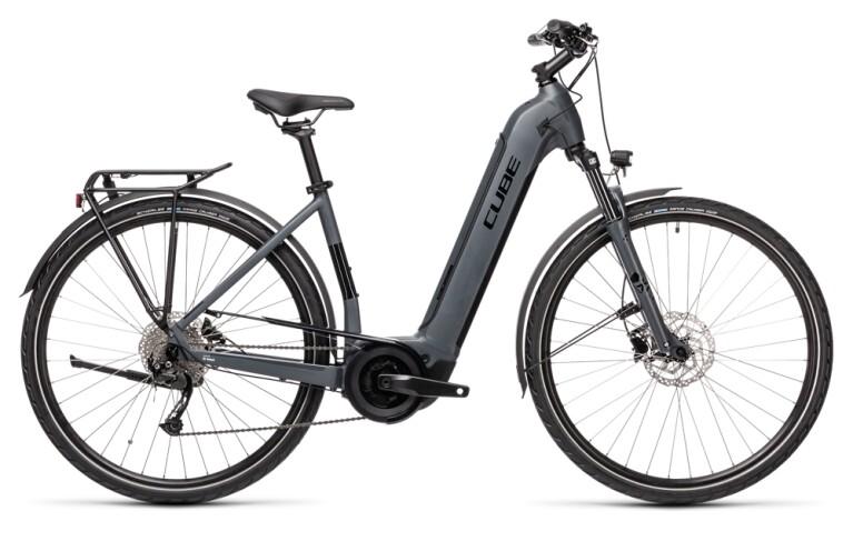 Cube - Touring Hybrid ONE 500 grey n black