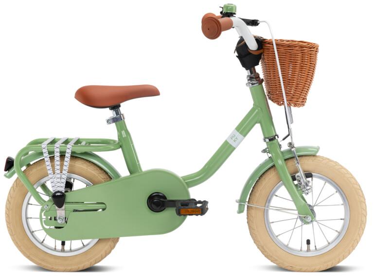 Puky - STEEL Classic  12 retro-grün