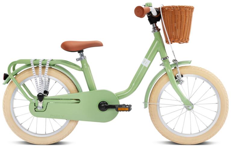 Puky - STEEL Classic 16 retro grün