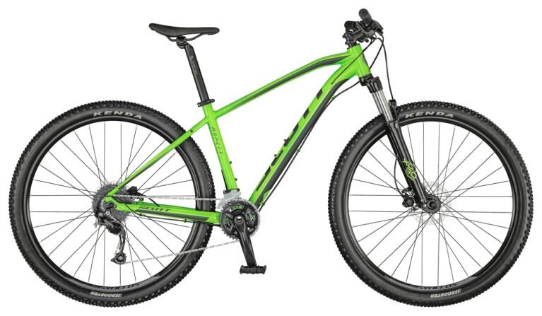 Scott - Aspect 750 smith green/dark grey