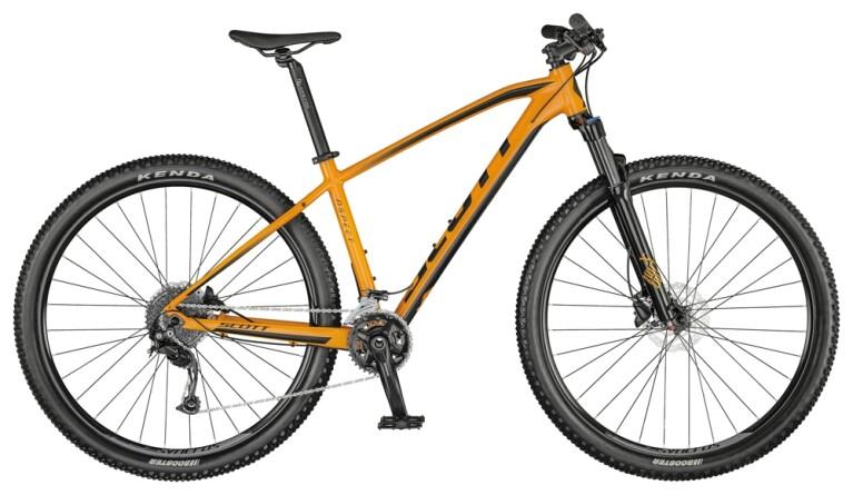 Scott - Aspect 940 tangerine orange/gloss black