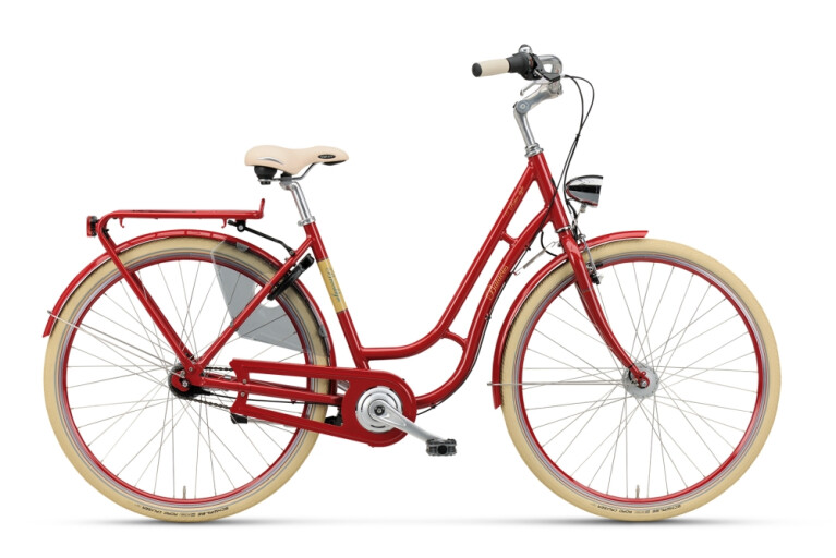 Batavus - Brooklyn scarlet rot 50cm
