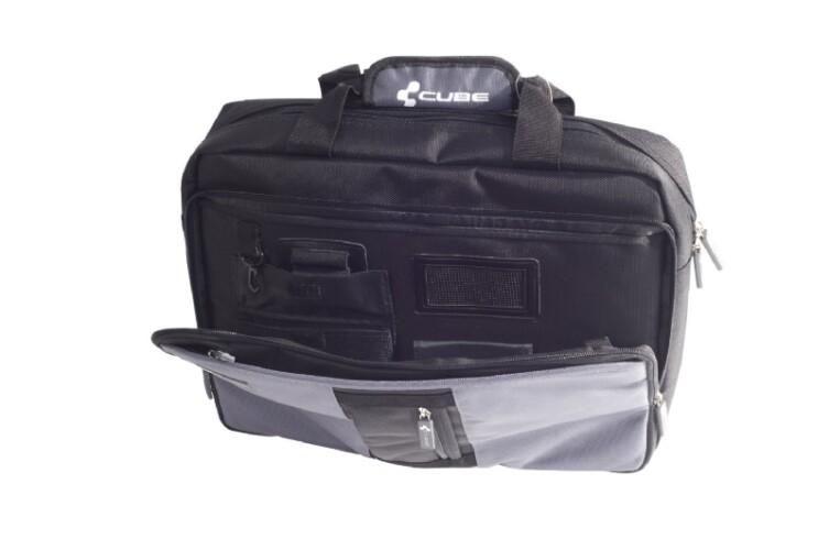 Cube Office Bag  schwar/grau