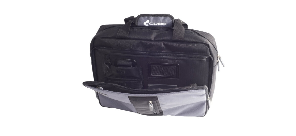 Cube Office Bag  schwar/grau