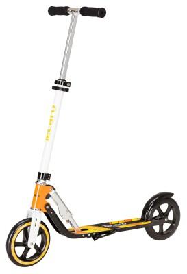 Hudora - Tecaro Booster 8 schwarz-gelb