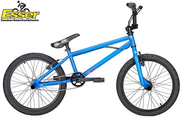 Fishbone - P1000 BMX blau-glänzend