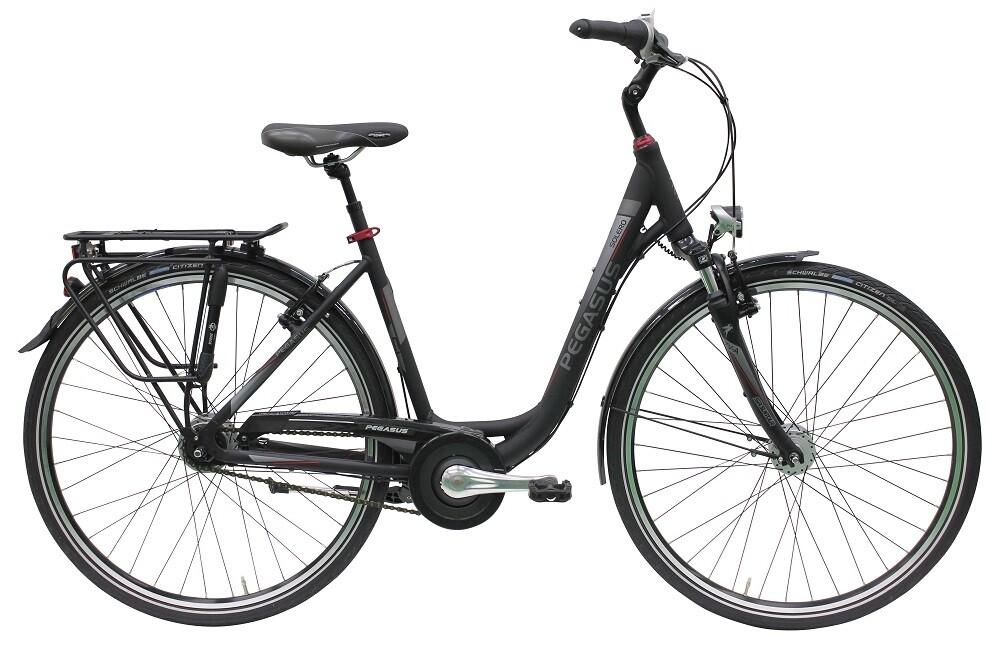 pegasus solero sl schwarz 28 zoll damen fahrrad mit 7 gang nabenschaltung. Black Bedroom Furniture Sets. Home Design Ideas