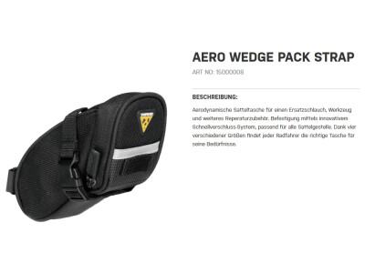 Aero Wedge Pack Strap