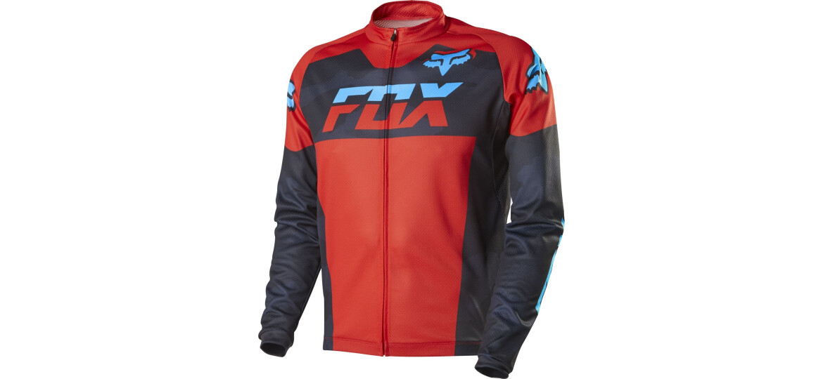 Fox-Racing Livewire Race Maco LS Jersey