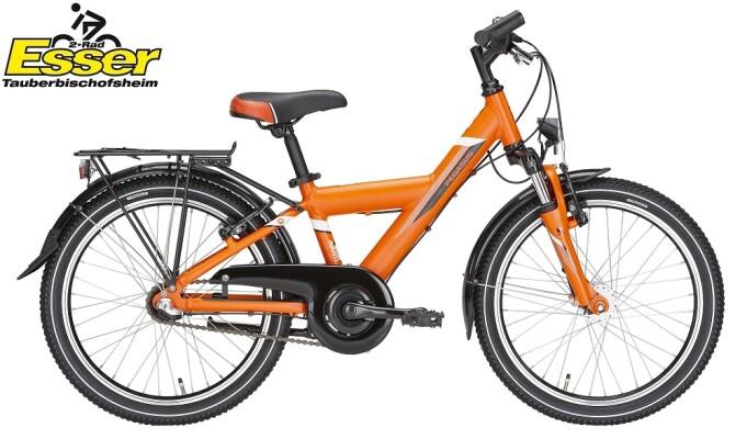 Pegasus - Avanti 3 Gang 20 Zoll orange-matt