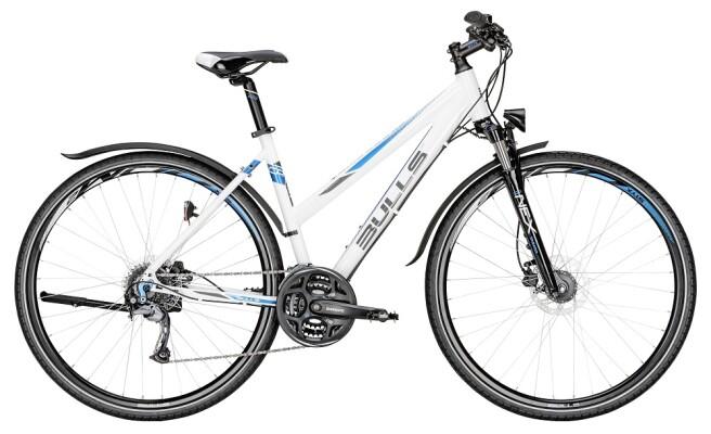 Bulls - Cross Bike Street Damenrad weiß/blau
