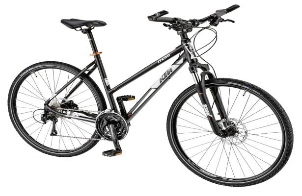 KTM - Itero Cross Damenrad schwarz-matt